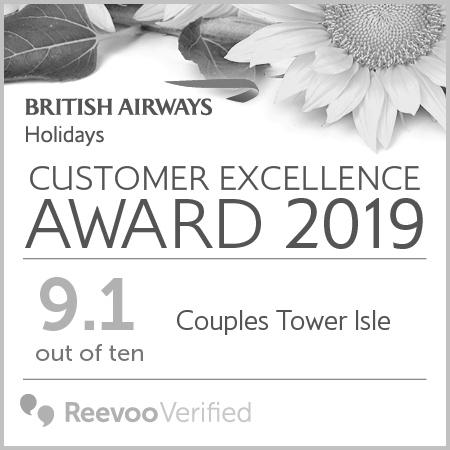 Couples Resorts British Airways Couples Tower Isle