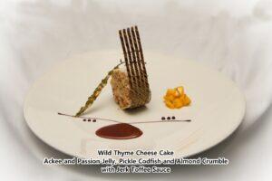 Teresa Clarke's cheesecake dish