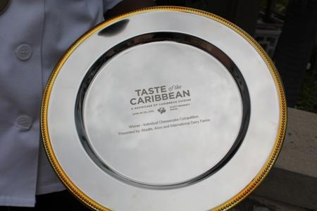Taste of the Caribbean award