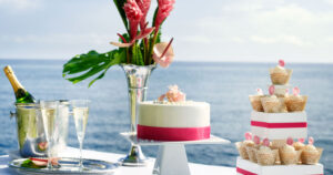Wedding Cake at Couples Resorts