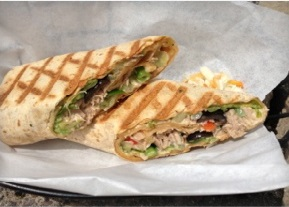 Veggie Sandwiches at CSA