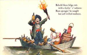 Pirates of the Caribbean postcard