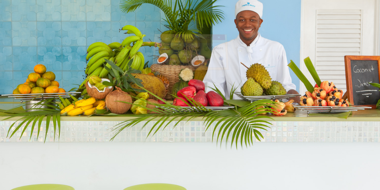 Food in Jamaica - Couples Resorts