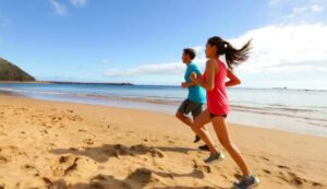 Tips for running on sand