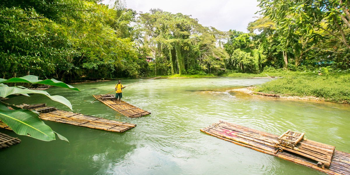 Guide to Bamboo Rafting in Jamaica - Couples Resorts