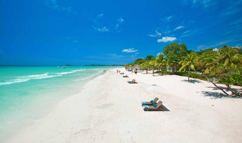 best beaches in negril, jamaica