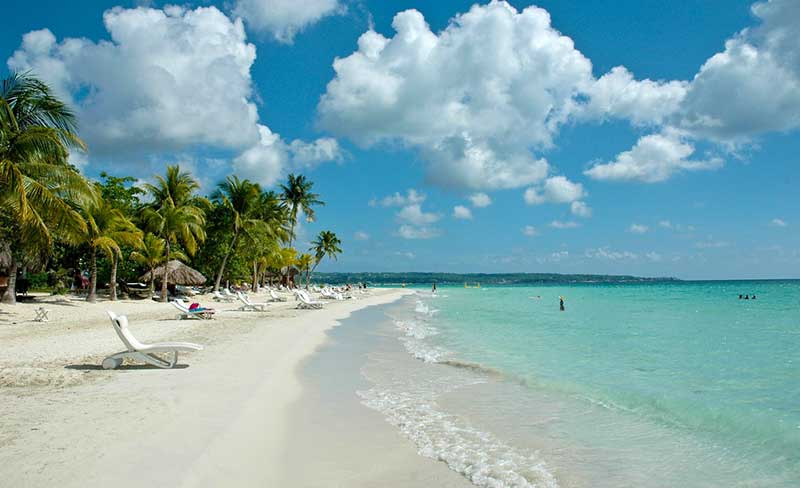 best beaches in negril, jamaica
