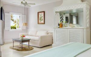 One Bedroom Beachfront Suite, Couples Sans Souci