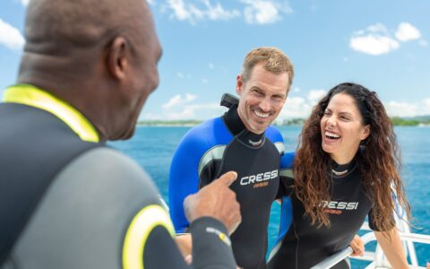 Couples Negril Scuba Diving