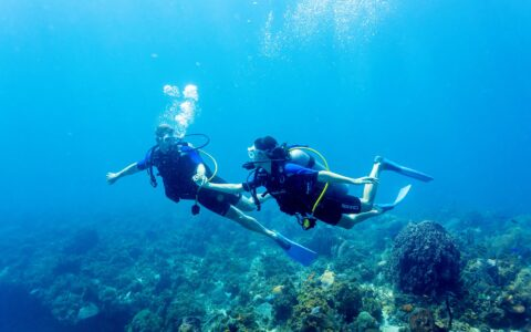 Couples Swept Away Scuba