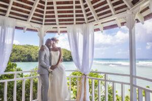 Couples Sans Souci Wedding Gazebo