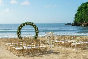 Couples Sans Souci: Private Beach Sunset Ceremony